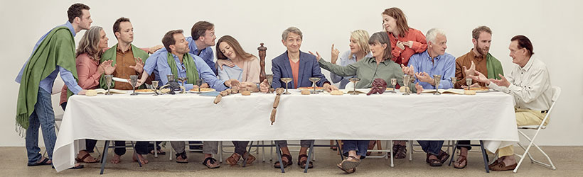 I Fagiolini 'Last Supper' © Matthew Brodie